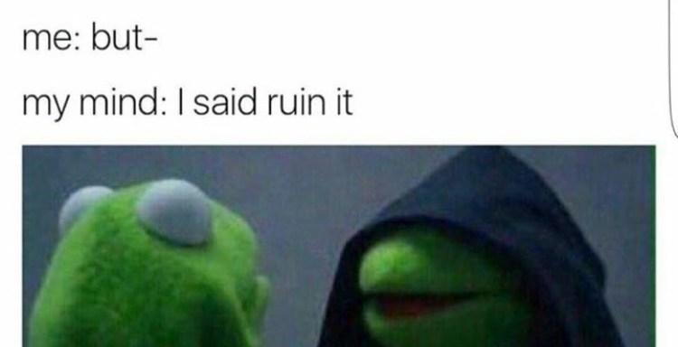 The 30 Most Hilarious 'Dark Kermit' Memes On The EntireInternet