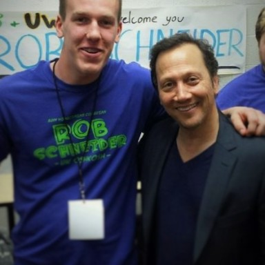 What Meeting Rob Schneider Taught Me About My Own Life