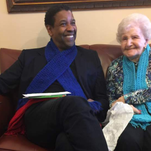 The Story Of How Denzel Washington Met This 99-Year-Old Grandmother Will Totally Melt Your Heart