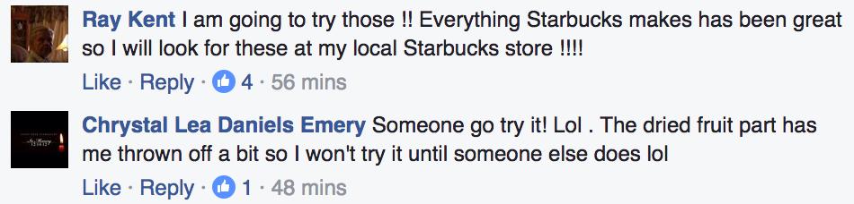 Facebook / Starbucks