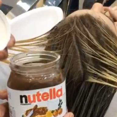 You Can Actually Dye Your Hair With Nutella