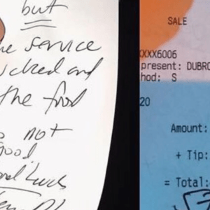Tone-Deaf 'Real Housewives' Star Brags About Shitty Note Her Husband Left A Server