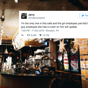 This Café Customer Live-Tweeted Two Baristas Falling In Love And It's Hilariously Cute