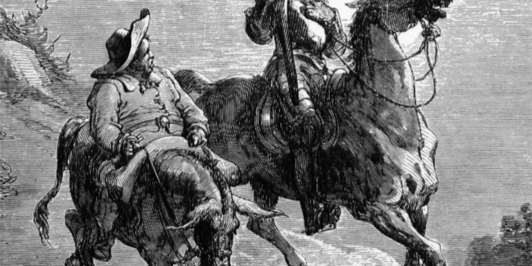 On Don Quixote's Philosophy OfImmortality