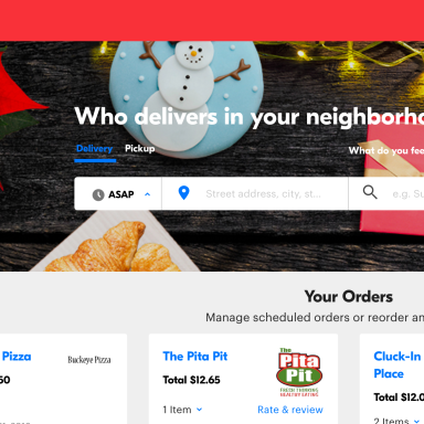 Here's A Review Of Every Order I Made On Grubhub In 2016