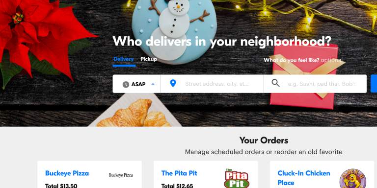 Here's A Review Of Every Order I Made On Grubhub In2016