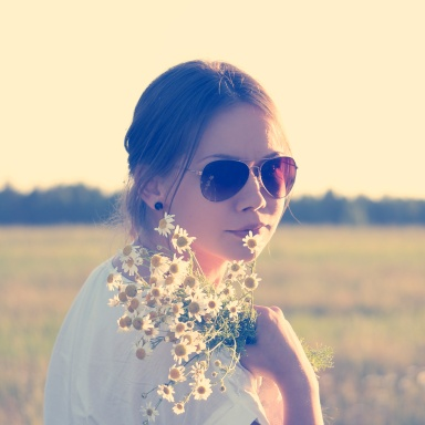 She Was A Daisy In A Field Of Roses