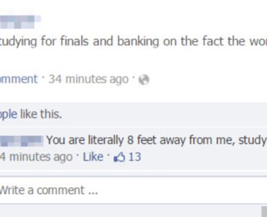 27 Hilarious Times People Lied On Facebook But Were Busted Immediately