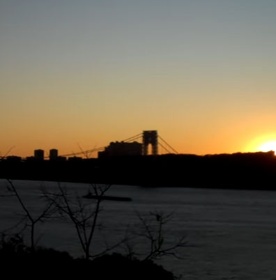 gw-bridge-sunset
