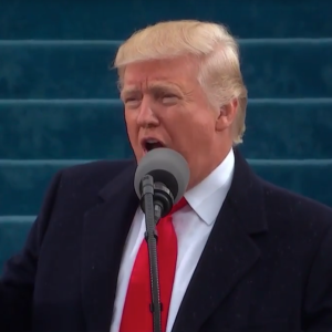 Here's The Hidden Message That Someone Discovered In Trump's Inauguration Speech