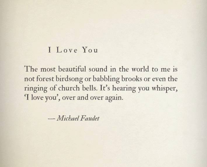 Michael Faudet poetry