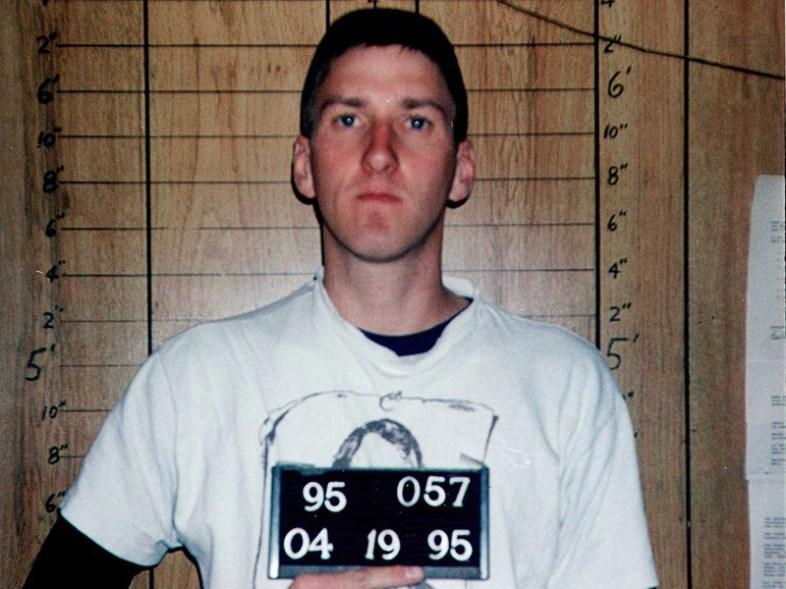 Timothy McVeigh. (FBI file photo)