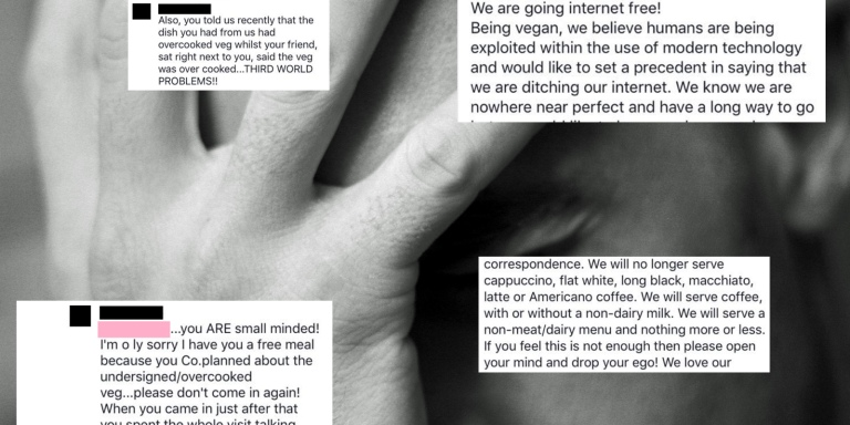 This Vegan Restaurant's Public Facebook Meltdown Is So Cringey But You Won't Be Able To Stop Yourself FromLaughing