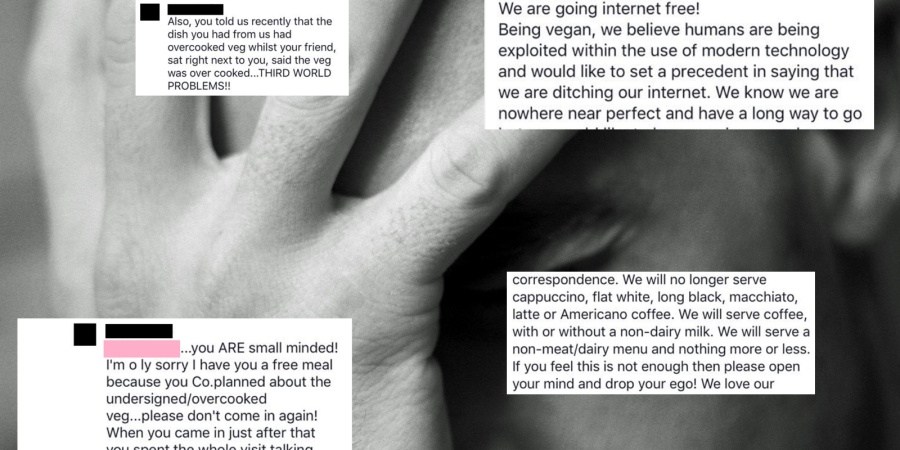 This Vegan Restaurant's Public Facebook Meltdown Is So Cringey But You Won't Be Able To Stop Yourself From Laughing