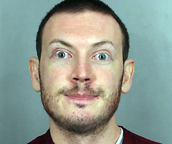 James Holmes. (Arapahoe County Sheriff's Department)