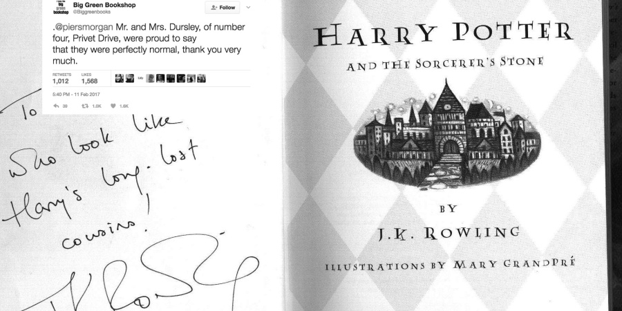 After Piers Morgan's Dumbass Tweets To JK Rowling This Bookstore Gave The Perfect Response