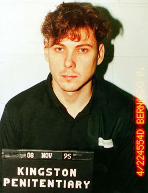 Paul Bernardo. (Kingston Penitentiary)