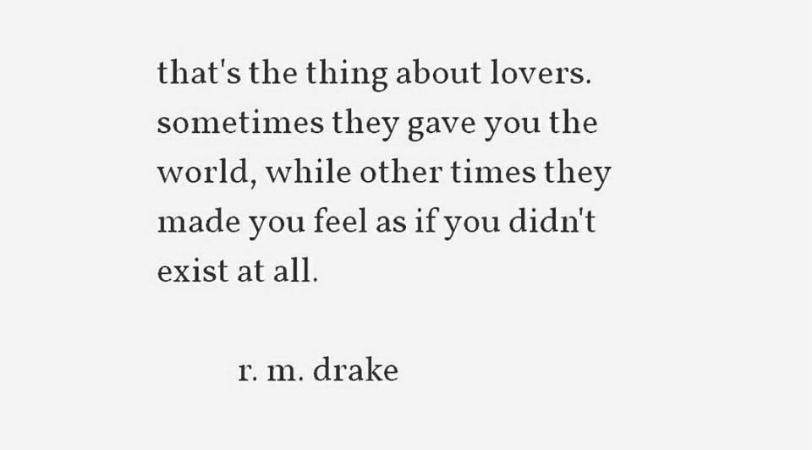'Sometimes The Most Beautiful People Are Beautifully Broken' — An Interview With Poet R. M.Drake
