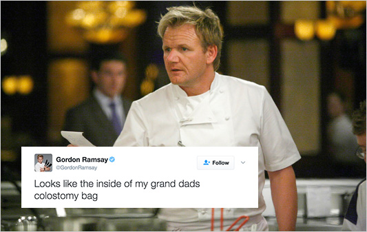 Gordon Ramsay Is Dragging Amateur Cooks' Food On Twitter And It'sHilarious