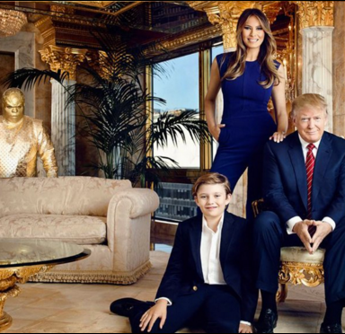 This Guy Photoshopped CeeLo Green Into Trump's Family Photos And It's Both Hilarious And Terrifying