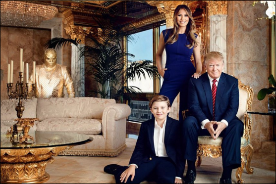 This Guy Photoshopped CeeLo Green Into Trump's Family Photos And It's Both Hilarious AndTerrifying