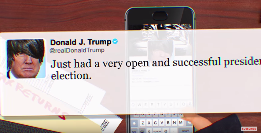 Someone Turned Donald Trump's Tweets Into Emo Lyrics And It's Everything You Never Knew You Needed