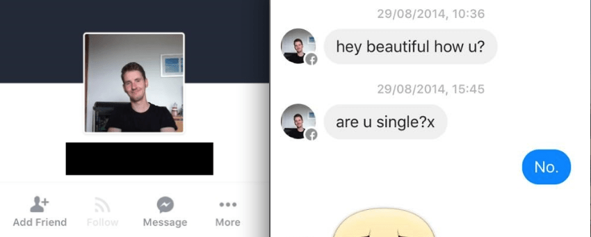 This Woman Roasts The Man Who Facebook Messaged Her For Three YearsStraight