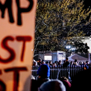 Why I Won't Protest Trump But Will Transcend Him