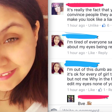 This Girl Posted An 'Unfiltered' Photo Of Herself On FB, And Literally Everyone Calls Her Out