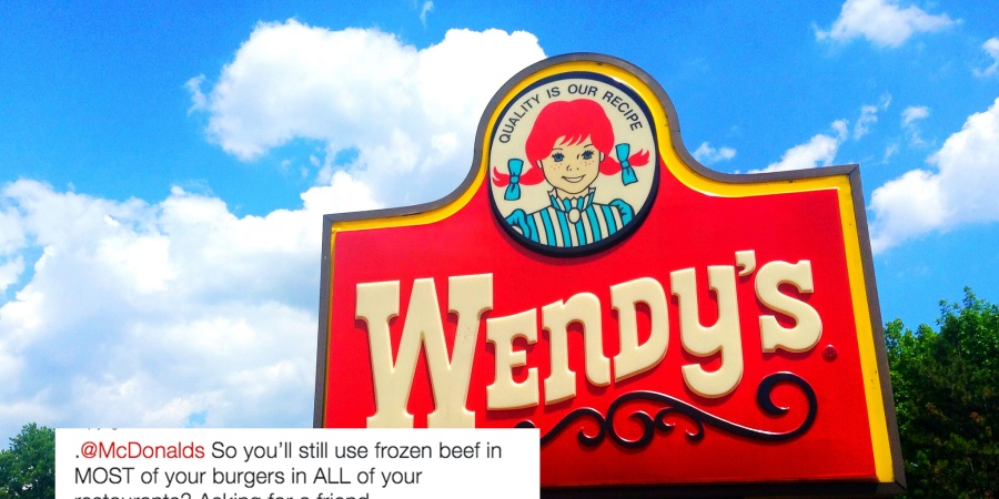 Wendy's Just Dragged McDonalds On Twitter And It's Hilariously Savage