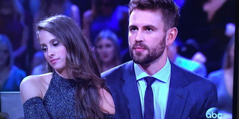 Most Uncomfortable After The Final Rose Ever? Nick And Vanessa Already Look UnhappyAF