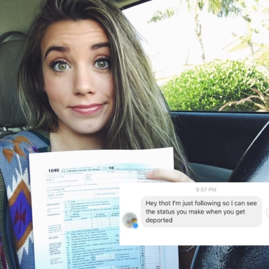 A 'Dreamer' Made This FB Post To Prove That She Paid Taxes But Now Alt-Right Trolls Want Her Kicked Out