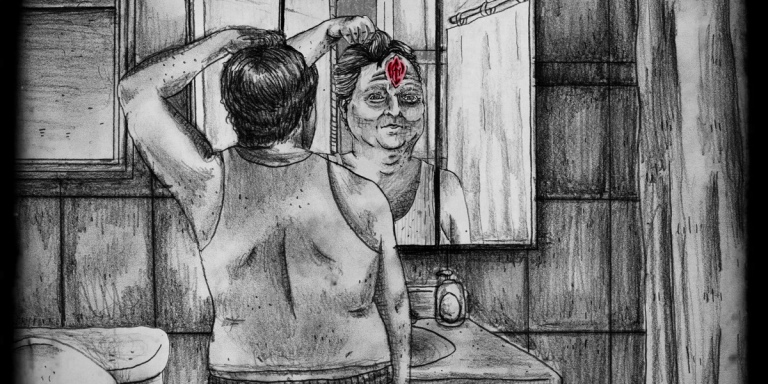 The Man Who Woke Up One Morning With A Vagina In HisForehead