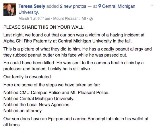 Facebook / Teresa Seeley