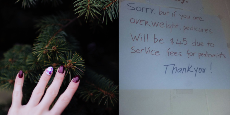 This Salon Is Charging Overweight Customers Extra For Pedicures Due To 'ServiceFees'