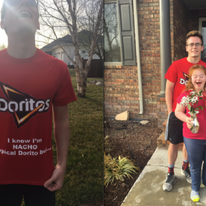 This Guy's Cheesy Promposal To His Best Friend's Sister Will Make You Say 'Aw'