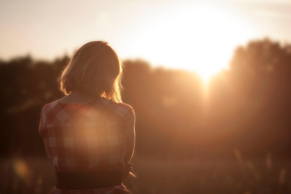 via Unsplash - Sunset Girl