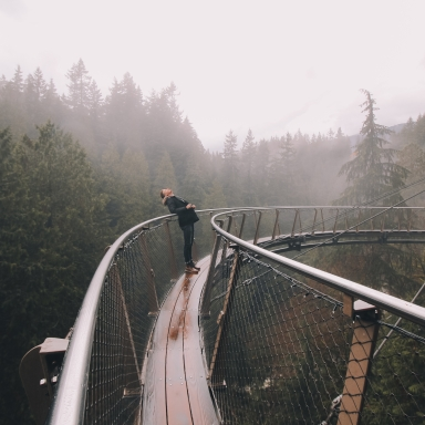When Life Pushes You To The Edge, Build A Bridge