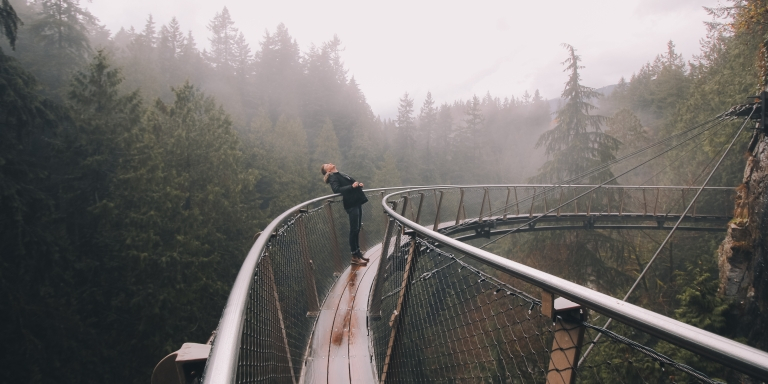 When Life Pushes You To The Edge, Build ABridge