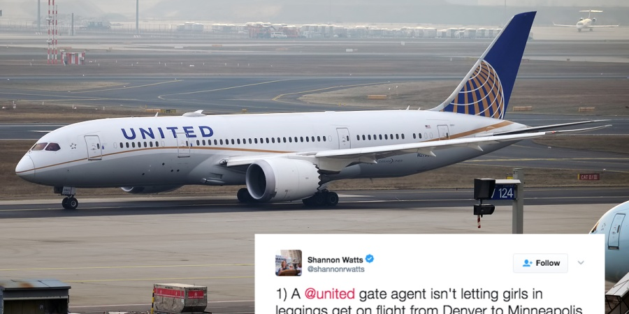 United Airlines Is Trying To Explain Why They Kicked These Women Off A Flight Because They Were 'Wearing Leggings'