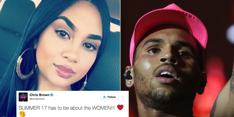 This Woman Savagely Shut Down Chris Brown After He Tweeted That Summer '17 Is 'About TheWomen'