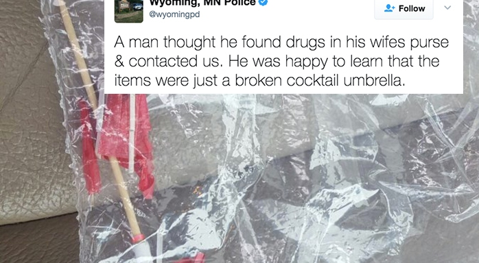This Man Called The Cops When He Found 'Drugs' In His Wife's Purse, But What It Really Was Is EvenWeirder