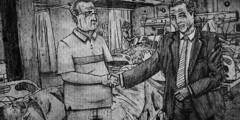 The Man Who Gave People Cancer When He Shook TheirHand