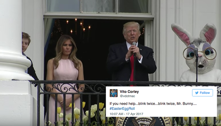 Twitter Is Roasting Trump Over The White House Easter Egg Roll And The Jokes Are Straight Fire