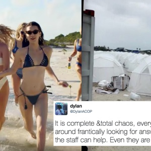 This $12,000 Luxury Festival Turned Into The Modern Day Hunger Games When Attendees Got Stranded On A Remote Island