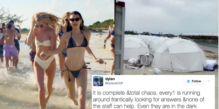 This $12,000 Luxury Festival Turned Into The Modern Day Hunger Games When Attendees Got Stranded On A RemoteIsland