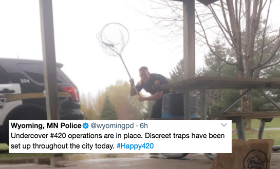 This Police Department Devised The Perfect Plan To Catch Stoners On4/20