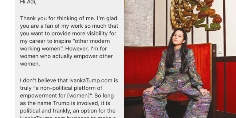 This Queer Chef Turned Down An Interview With Ivanka Trump's Website With This Absolutely PerfectResponse