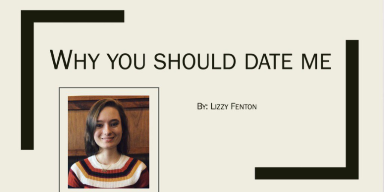 This Student Sent A PowerPoint To Her Crush Explaining Why He Should Date Her And It's Hilariously Relatable