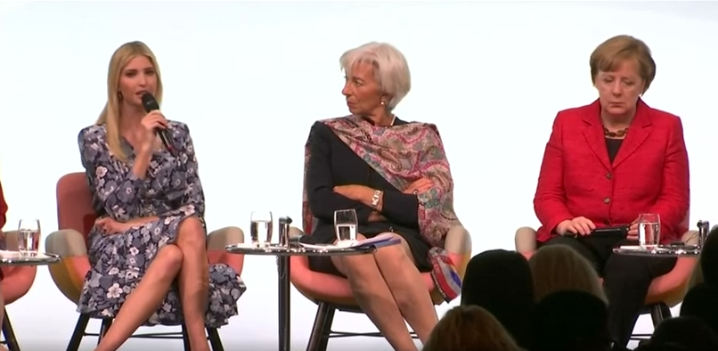 Ivanka Trump Got Brutally Roasted And Booed At A Women's Summit InGermany